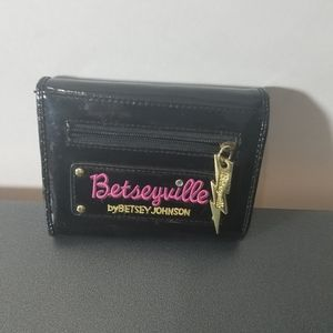 Betseyville By Betsey Johnson PVC Wallet